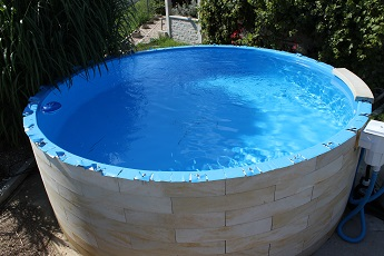 Vizualizace napuštěného bazénu